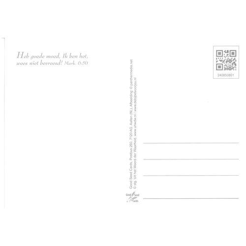 Enkelvoudige ansichtkaart 85-08