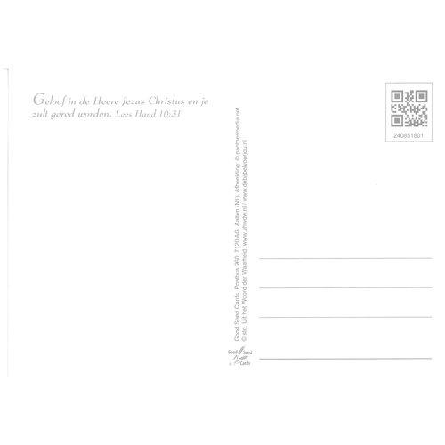 Enkelvoudige ansichtkaart 85-18