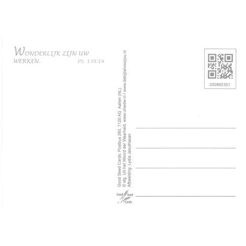 Ansichtkaart 89-23 luxe papier