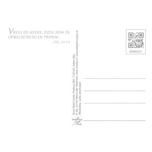 Ansichtkaart 89-22 luxe papier