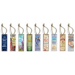 Set metalen boekenleggers met Bijbelspreuk (9stuks)