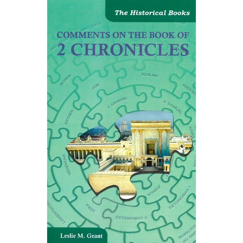 Comments on the book of 2 Chronicles