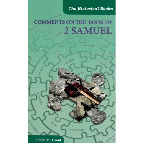Comments on the book of 2 Samuel
