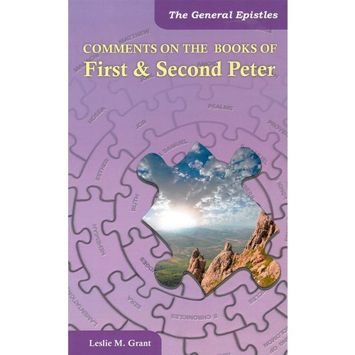 Comments on the book of First & second Peter