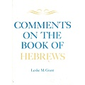 Comments on the book of Hebrews