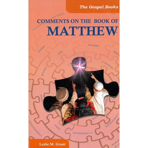 Comments on the book of Matthew