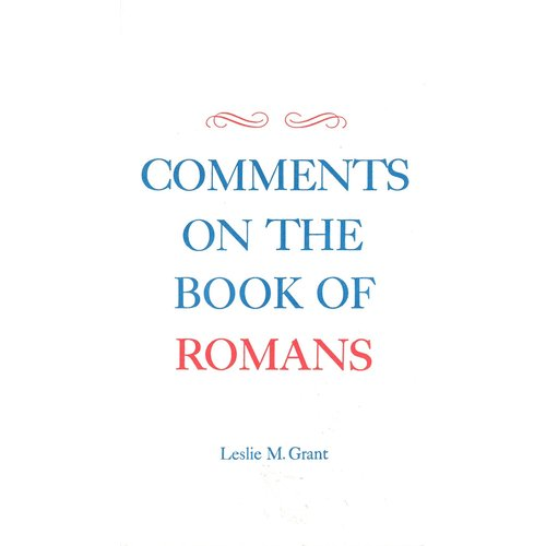 Comments on the book of Romans