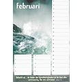 Verjaardagskalender met jaarplanner