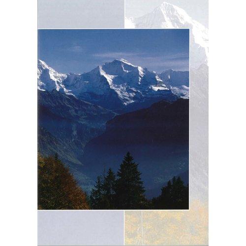 Luxe dubbelkaart met los inlegvel met tekst