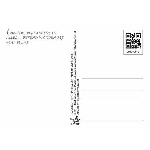Ansichtkaart met tekst 20-28