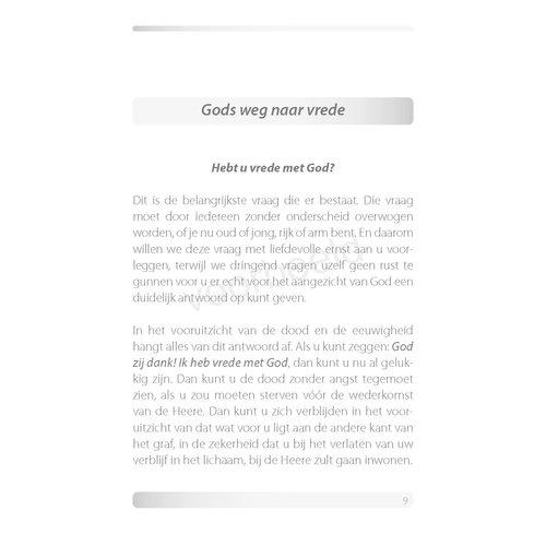 Gods weg naar vrede (verspreidingseditie)