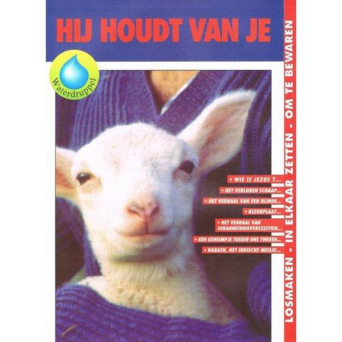 Nederlands: Kindermagazine Hij houdt van je