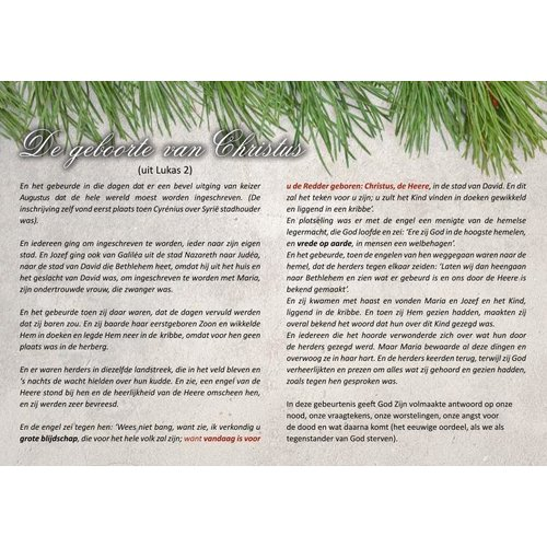 Traktaat: blijvende vrede en redding (Kerst)