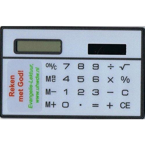 Rekenmachine, klein model.