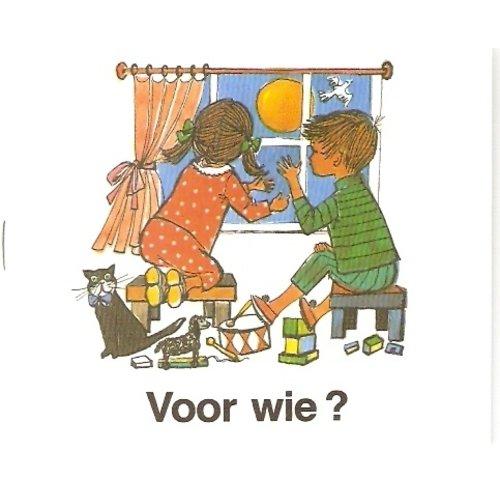 Voor wie? (serie kinderverrassing nummer 11) kleurboekje