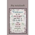 Notitieboek 'Vertrouw op de Heere met heel je hart, ken Hem in al je wegen'