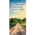 Boekenlegger: God, mijn Vader, kent de weg die voor mij ligt.