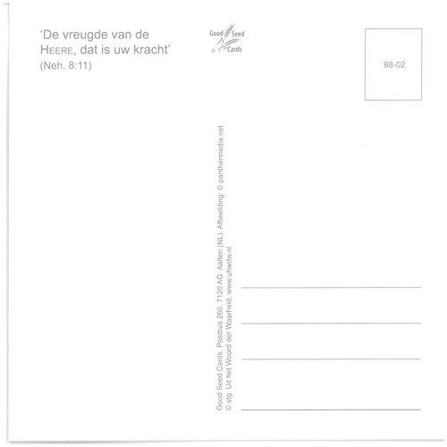 Enkelvoudige ansichtkaart 88-02