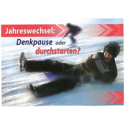 Traktaat: Jahreswechsel - Denkpause oder durchstarten? - Duits