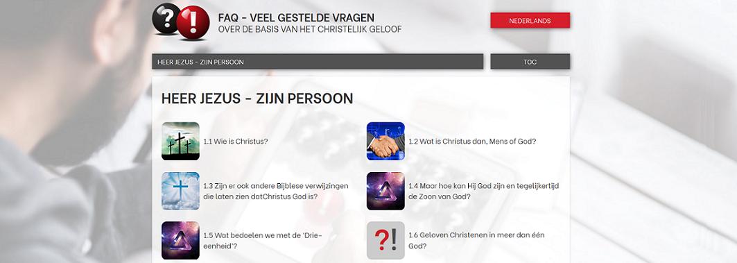 veel gestelde vragen over de basis van het Christelijk geloof