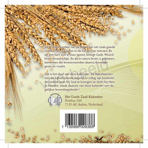 Het Goede Zaad, Luisterboek MP3, jaar 1