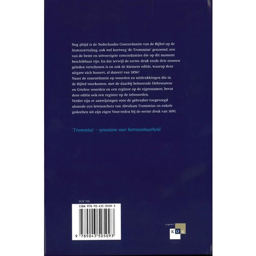 Concordantie van de Bijbel (Ned.) staten vertaling