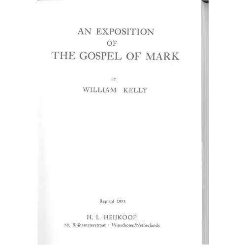 An Exposition of the Gospel of Mark.