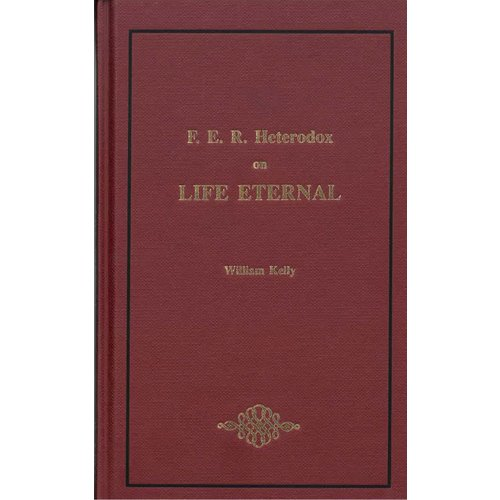 F.E.R. Heterodox on Life Eternal.