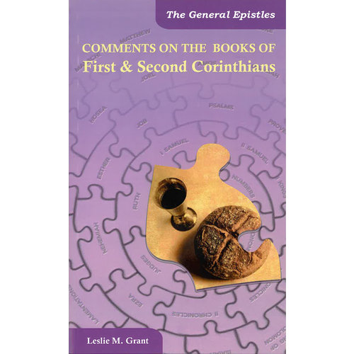 Comments on the books of First and Second Corinthians.