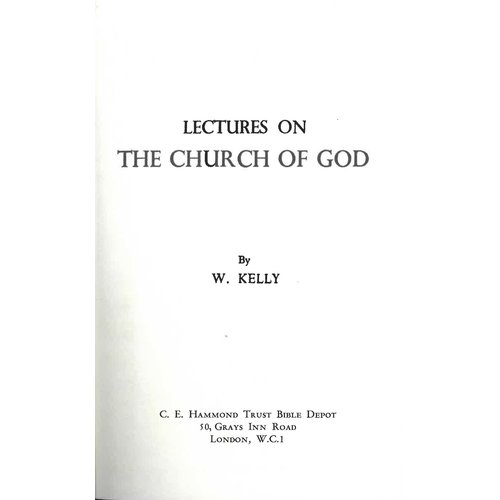 Lectures on the Church of God.