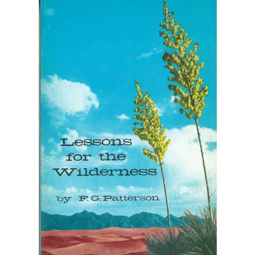 Lessons for the Wilderness.