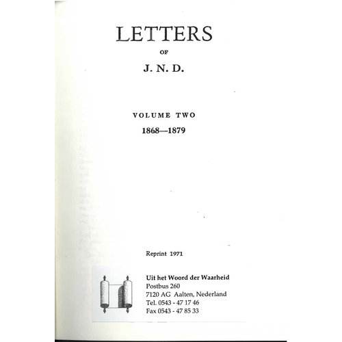 Letters of JND vol. 2