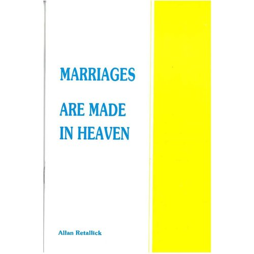 Marriages are made in Heaven.