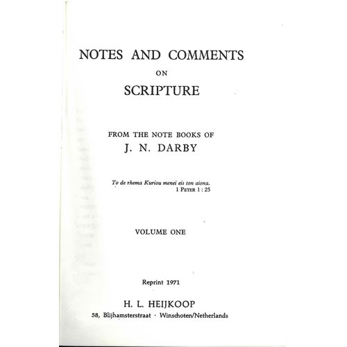 Notes and Comments  vol. 1