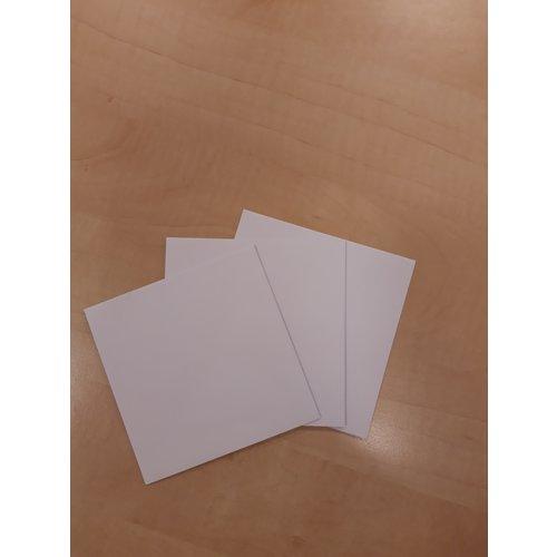 envelop 12X12 cm per 10 stuks