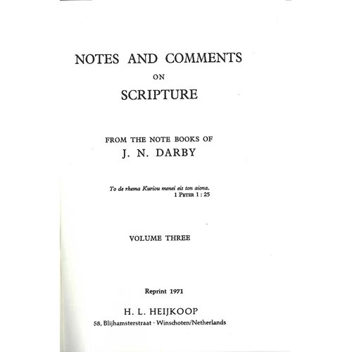 Notes and Comments  vol. 3