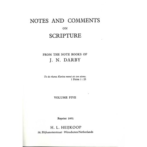 Notes and Comments  vol. 5