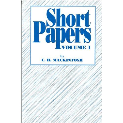Short Papers, 4 delen.
