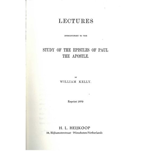 Study of the epistles of Paul the Apostle.  vol.2