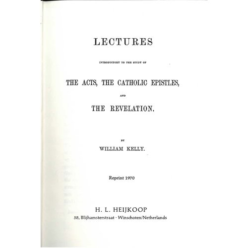 The acts the catholic epistles and the revelation. vol. 3