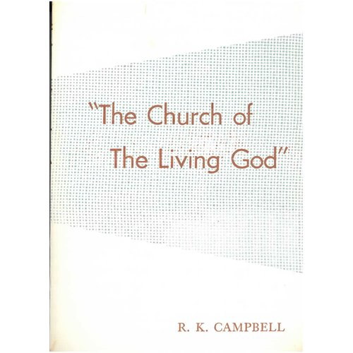 The Church of The Living God.