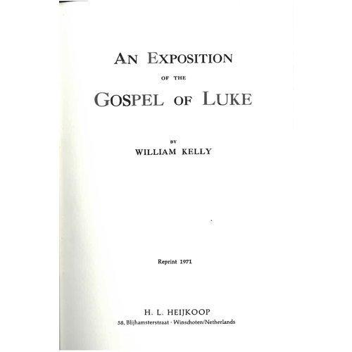 The Gospel of Luke.