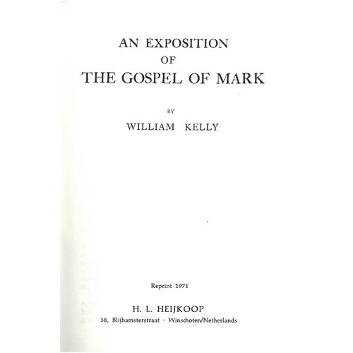 The Gospel of Mark.