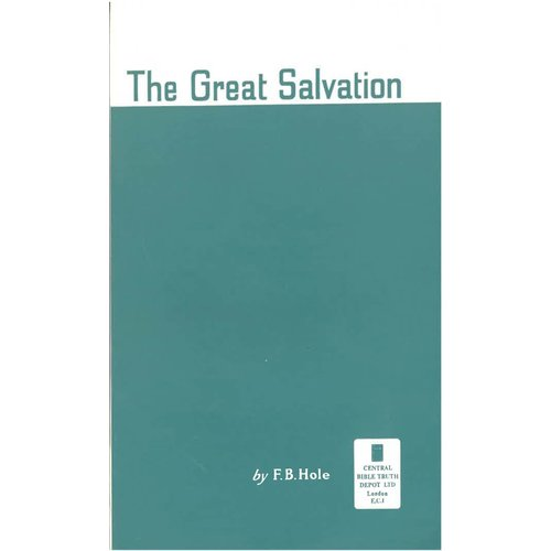 The Great Salvation.