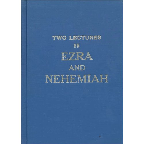 Two lectures on Ezra and Nehemia.