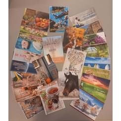 Mix pakket ansichtkaarten 21 serie