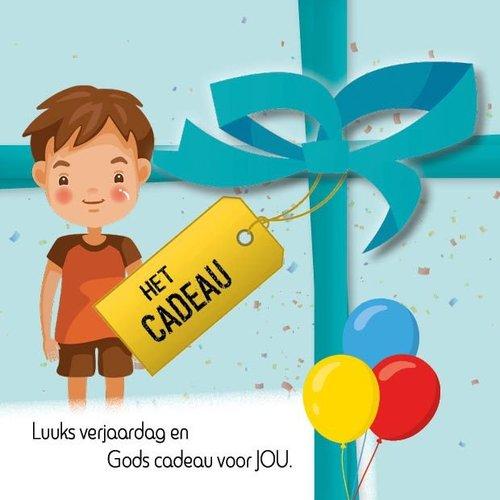 Luuks verjaardag en Gods cadeau voor JOU