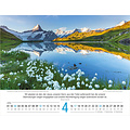 Zwitserse poster kalender Duits 2022