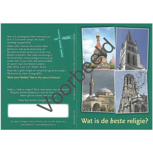 Traktaat: Wat is de beste religie?