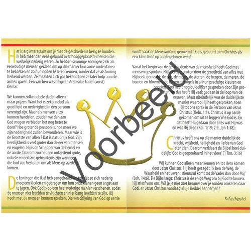 Traktaat: Kent u de nederige Koning?